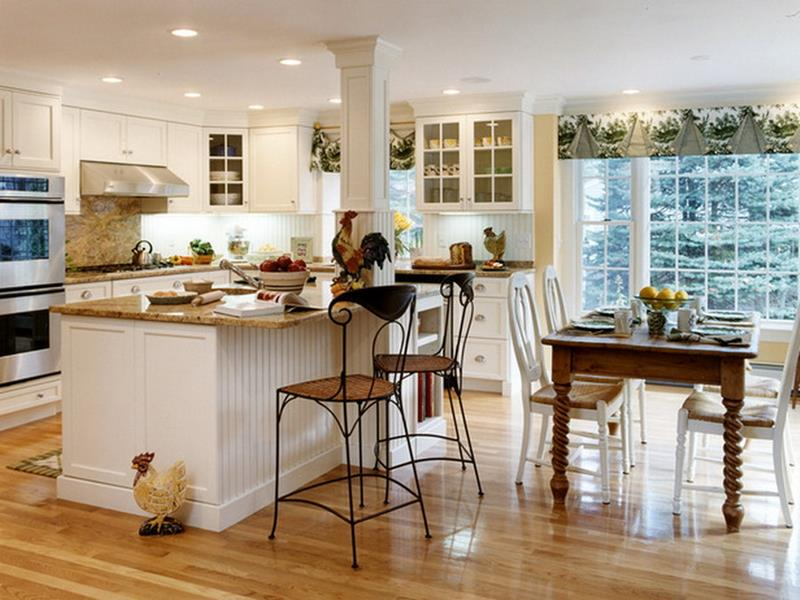 29 Awesome Open Concept Dining Room Designs-1