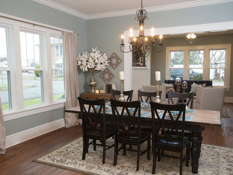 29 Awesome Open Concept Dining Room Designs-14