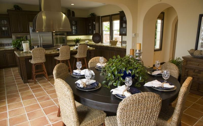 29 Awesome Open Concept Dining Room Designs-15