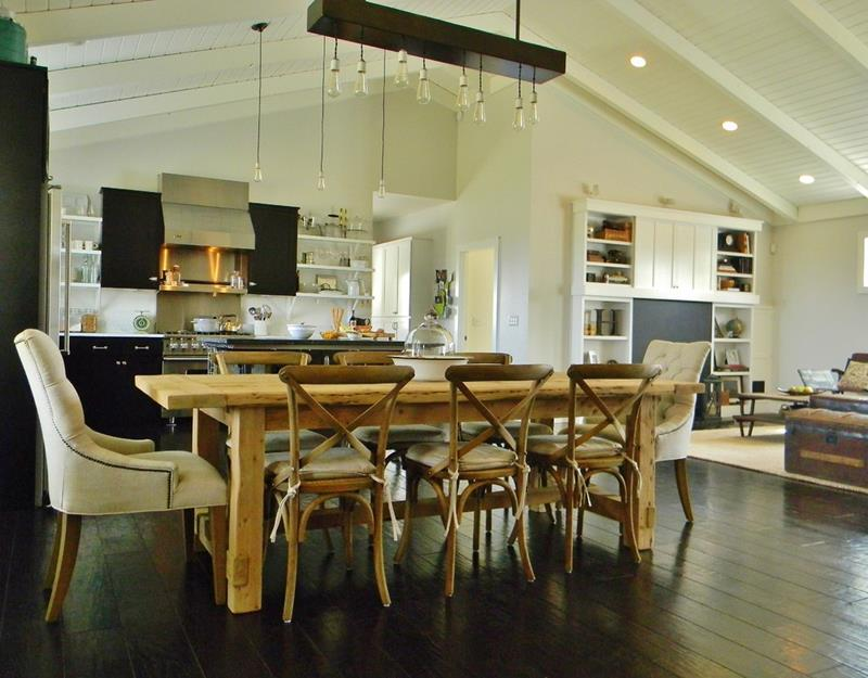 29 Awesome Open Concept Dining Room Designs-19