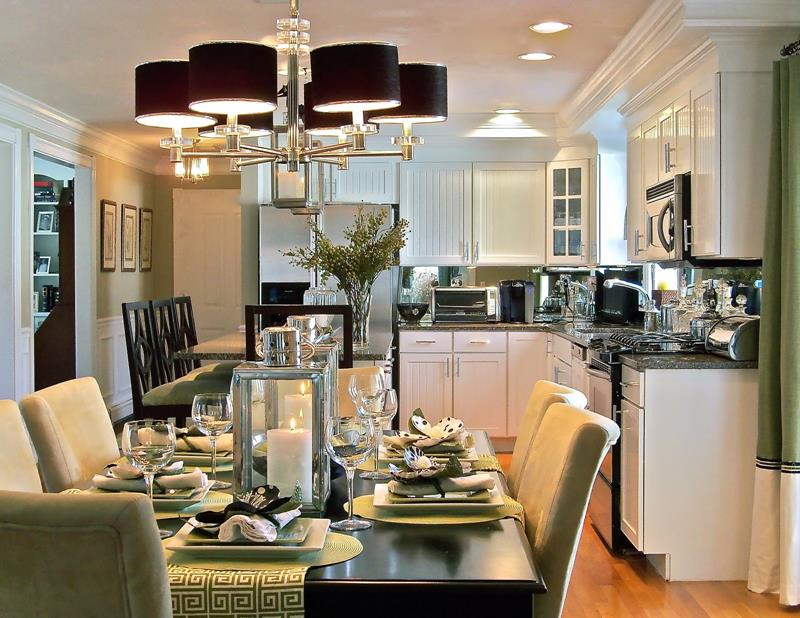 29 Awesome Open Concept Dining Room Designs-4
