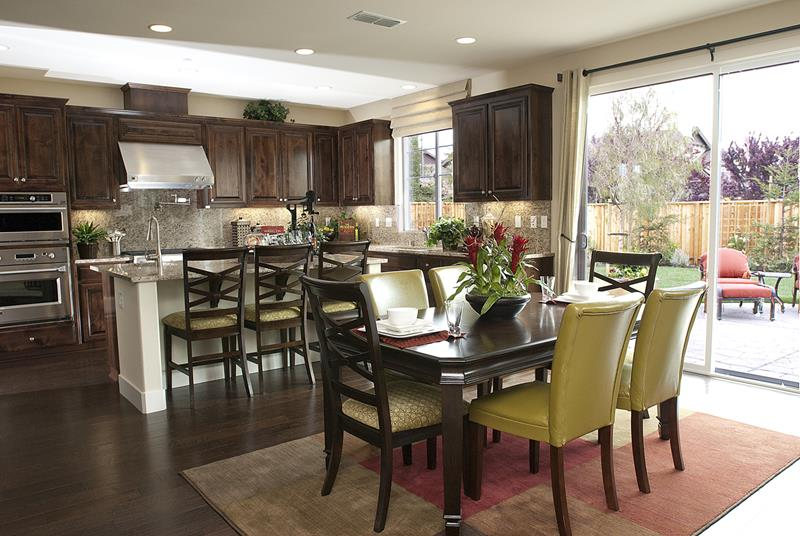 29 Awesome Open Concept Dining Room Designs-5
