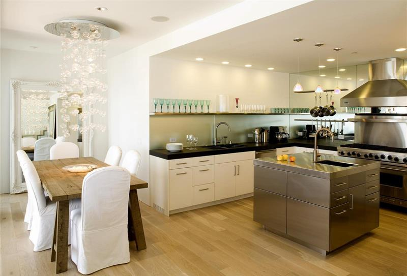 29 Awesome Open Concept Dining Room Designs-8