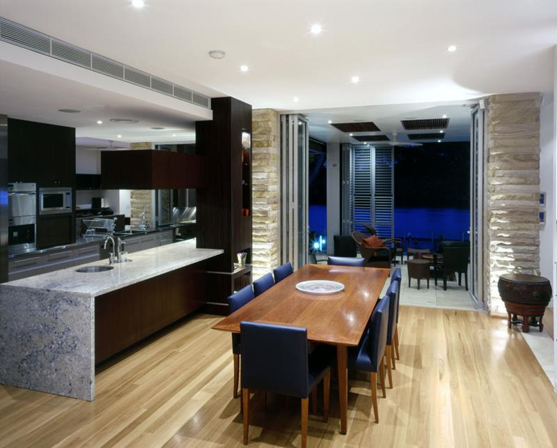 29 Awesome Open Concept Dining Room Designs-title