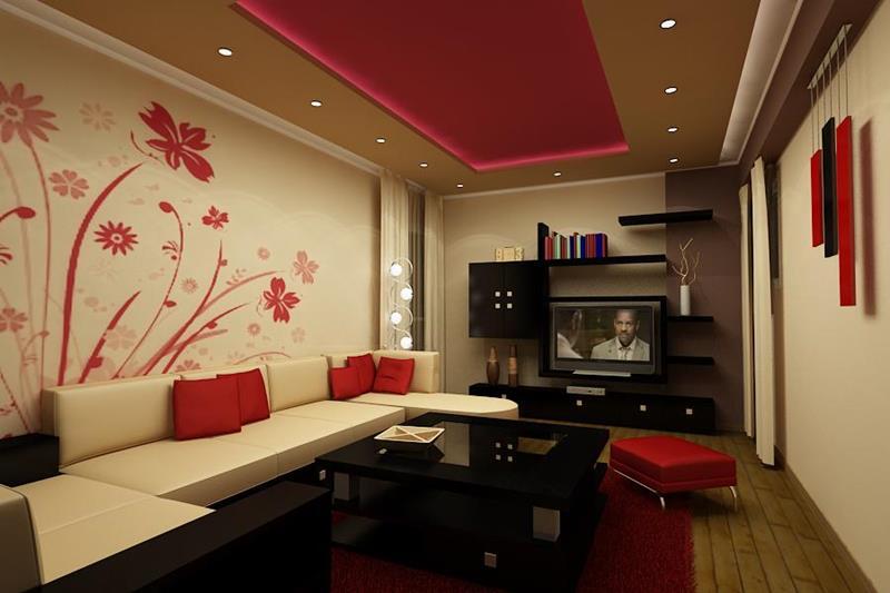 74 Small Living Room Design Ideas-14