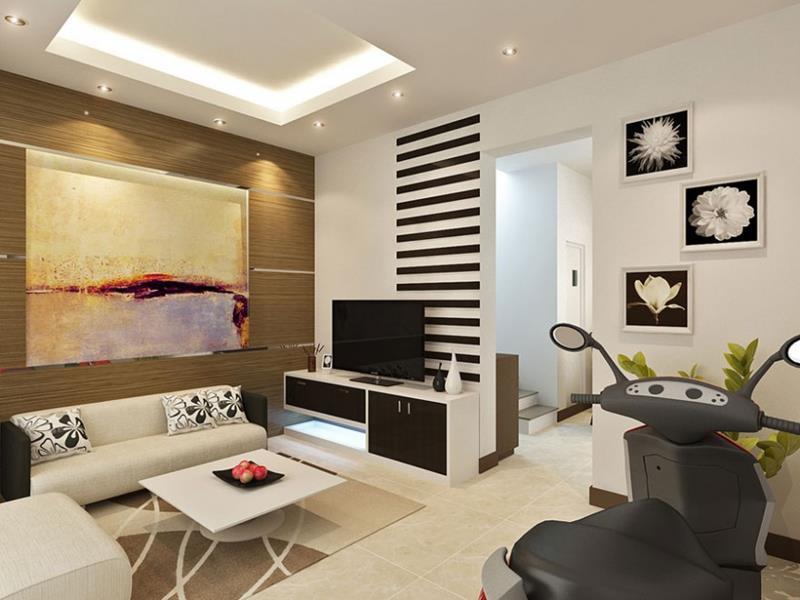 74 Small Living Room Design Ideas-3