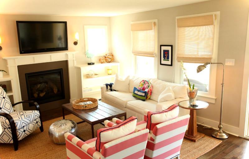 74 Small Living Room Design Ideas-74