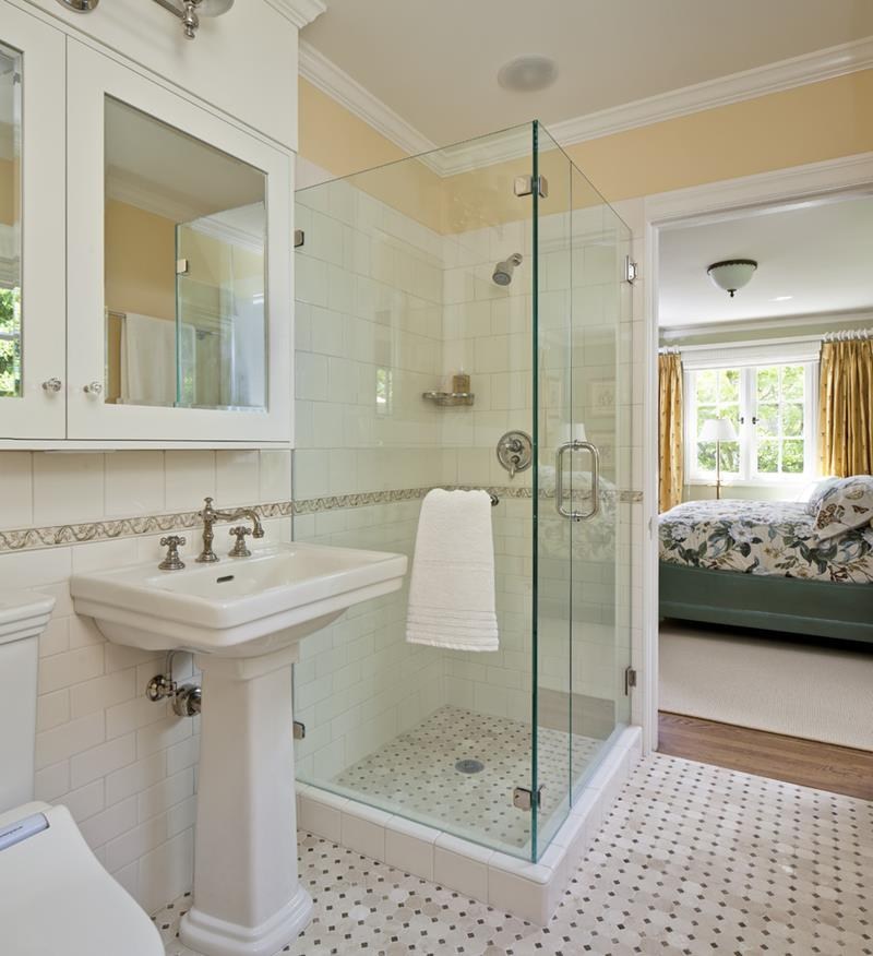 37 Bathrooms With Walk In Showers-19