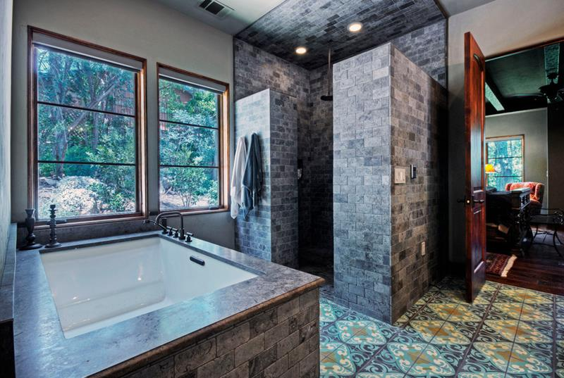37 Bathrooms With Walk In Showers-31