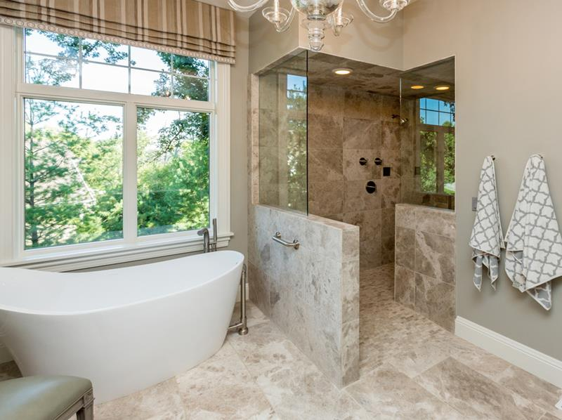 37 Bathrooms With Walk In Showers-37