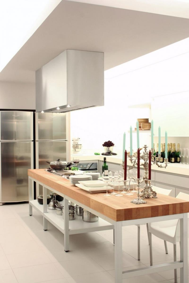 51 Awesome Small Kitchen With Island Designs - Page 6 of 10