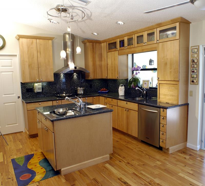 51 Awesome Small Kitchen With Island Designs-32