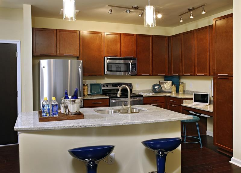 51 Awesome Small Kitchen With Island Designs-37