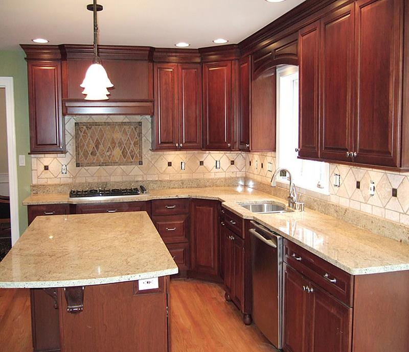 51 Awesome Small Kitchen With Island Designs-38