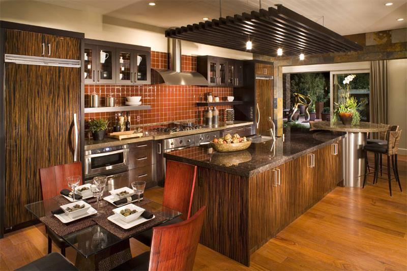 51 Awesome Small Kitchen With Island Designs-39