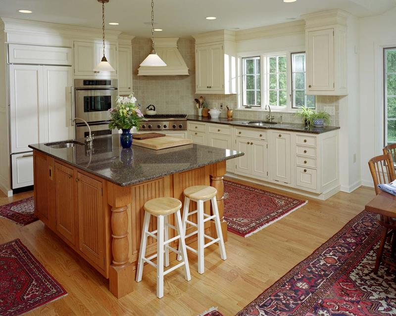 51 Awesome Small Kitchen With Island Designs-48