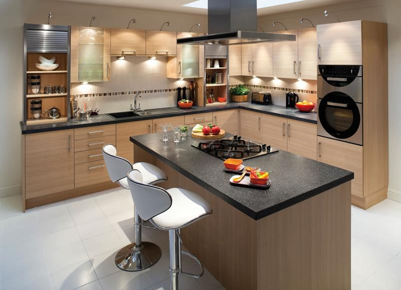 51 Awesome Small Kitchen With Island Designs-49