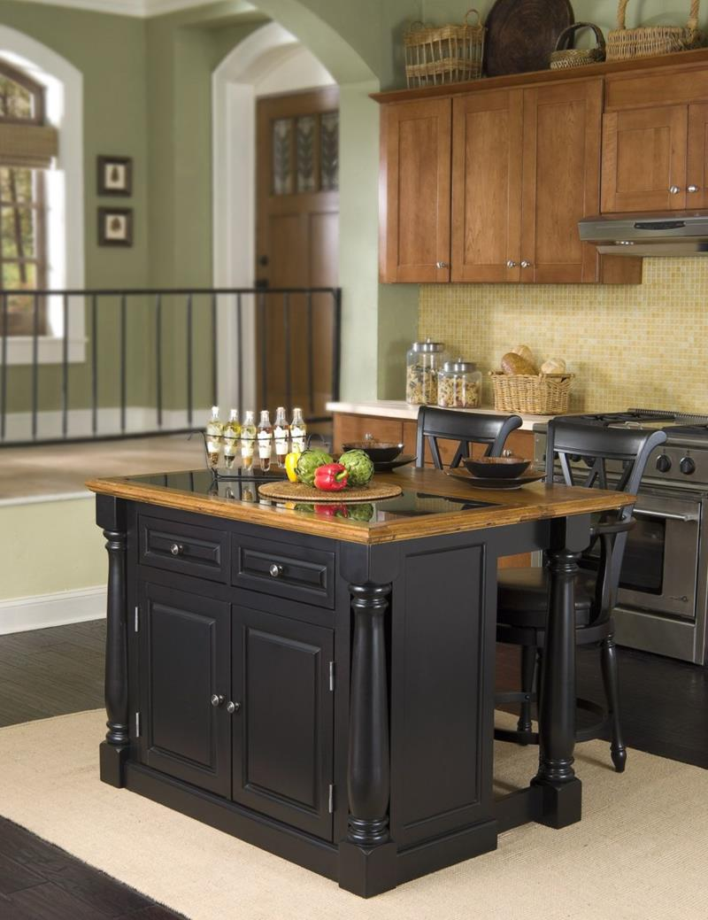 51 Awesome Small Kitchen With Island Designs-5