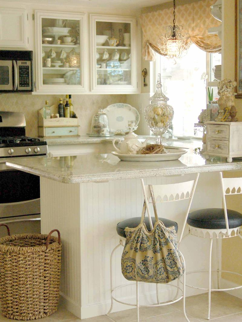 51 Awesome Small Kitchen With Island Designs-51