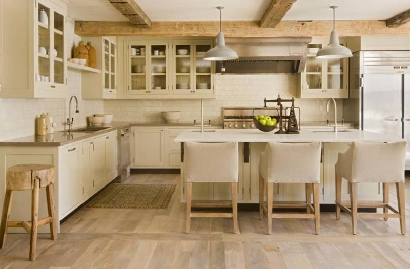 53 Charming Kitchens With Light Wood Floors-12
