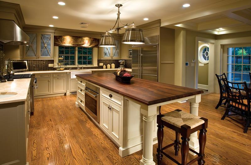 53 Charming Kitchens With Light Wood Floors-14