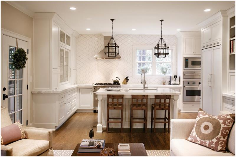 53 Charming Kitchens With Light Wood Floors-35