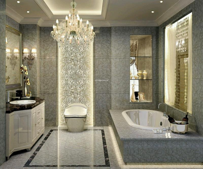 55 Amazing Luxury Bathroom Designs-10