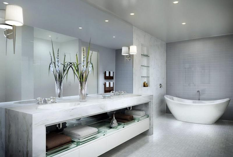 55 Amazing Luxury Bathroom Designs-12