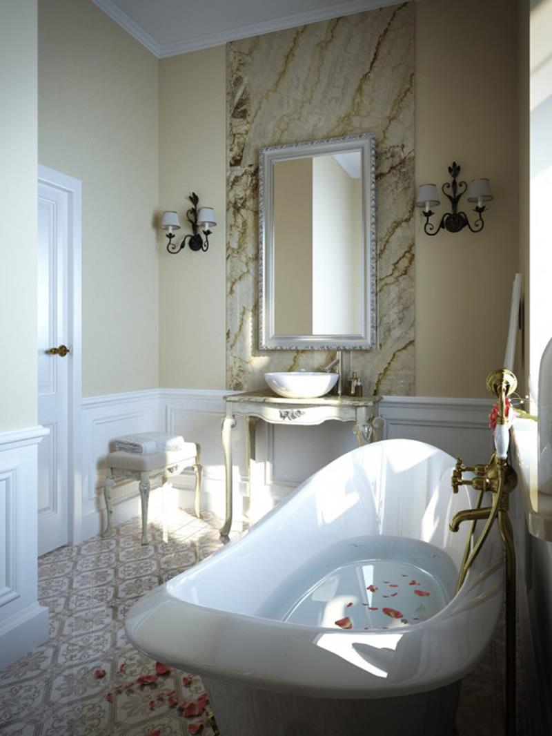 55 Amazing Luxury Bathroom Designs-19