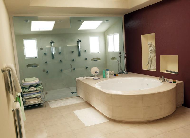 55 Amazing Luxury Bathroom Designs-28