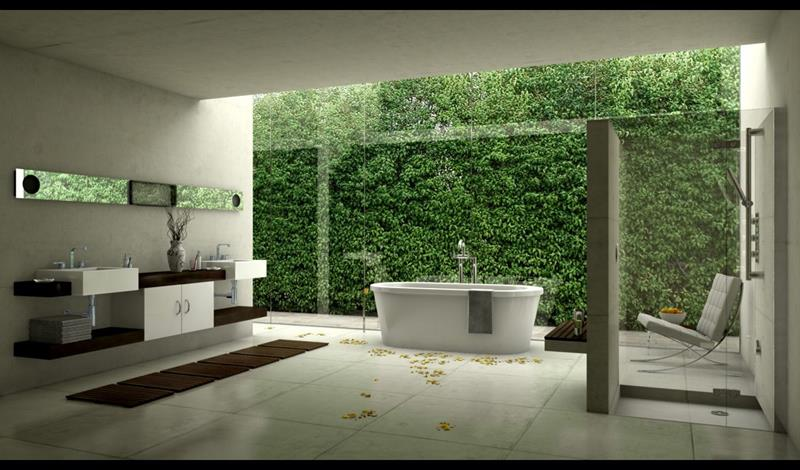 55 Amazing Luxury Bathroom Designs-33