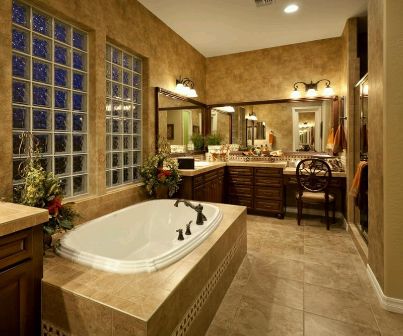 55 Amazing Luxury Bathroom Designs-37