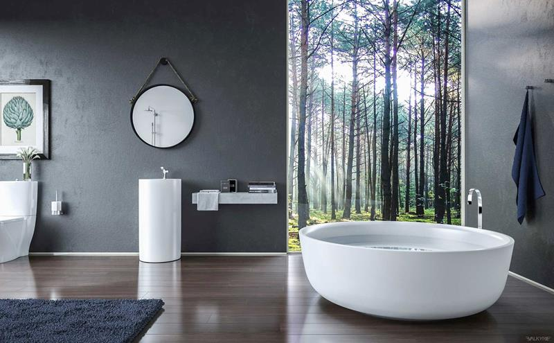 55 Amazing Luxury Bathroom Designs-38