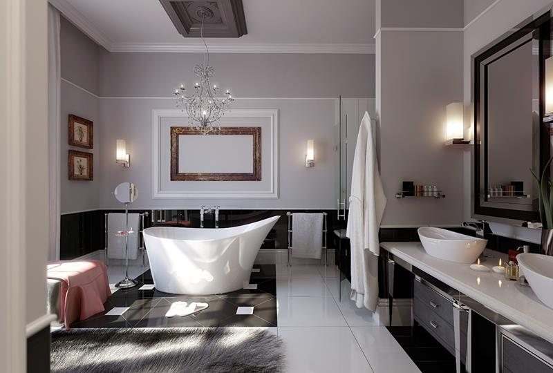 55 Amazing Luxury Bathroom Designs-title