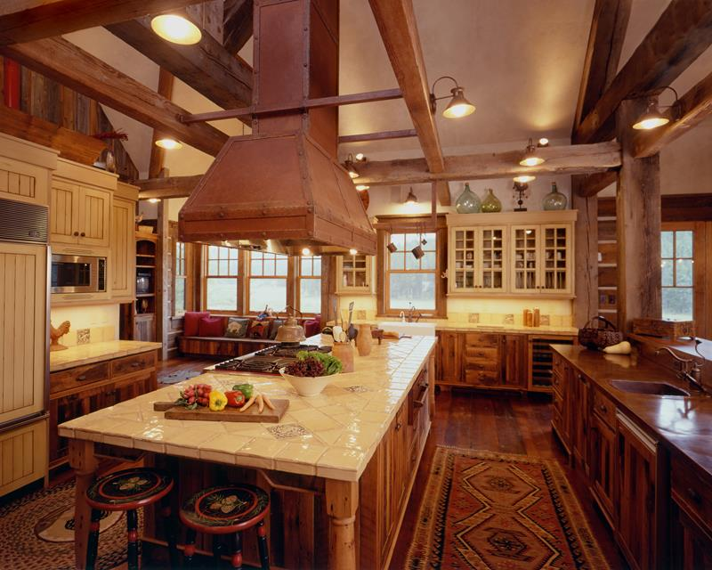 81 Absolutely Amazing Wood Kitchen Designs-17
