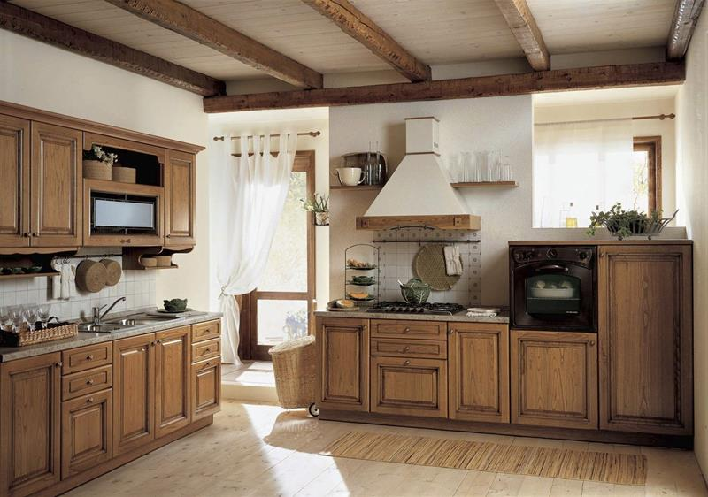 81 Absolutely Amazing Wood Kitchen Designs-22
