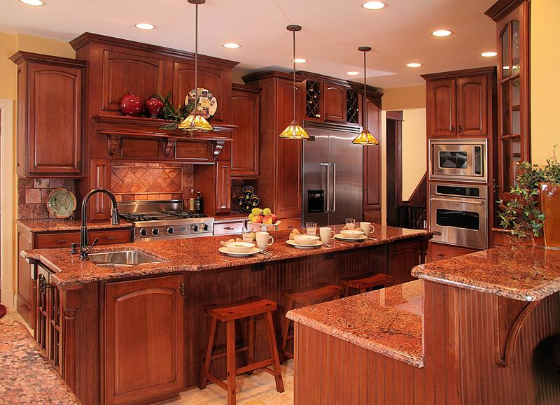 81 Absolutely Amazing Wood Kitchen Designs-23