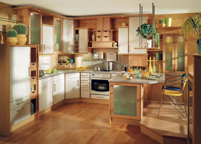 81 Absolutely Amazing Wood Kitchen Designs-29