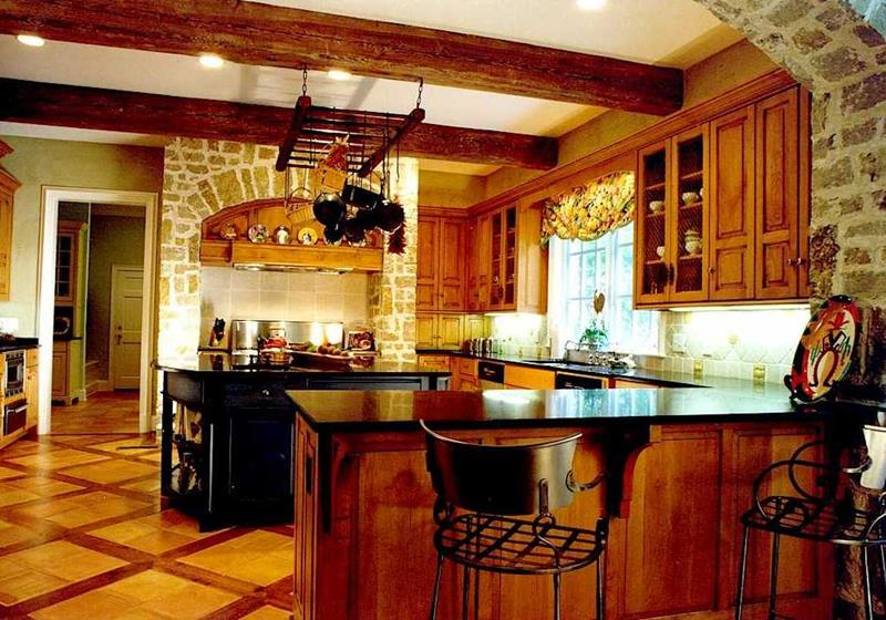81 Absolutely Amazing Wood Kitchen Designs-33
