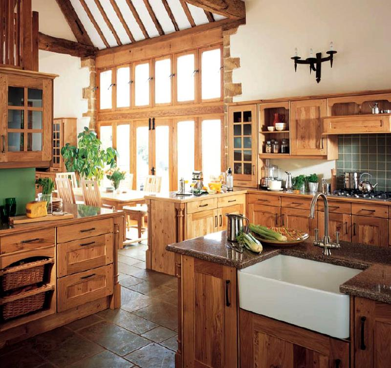 81 Absolutely Amazing Wood Kitchen Designs-36