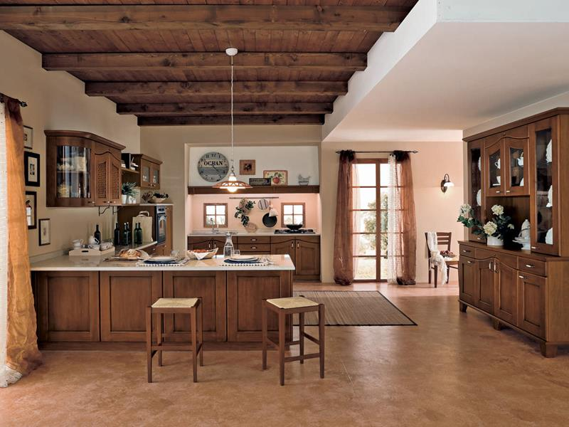 81 Absolutely Amazing Wood Kitchen Designs-38