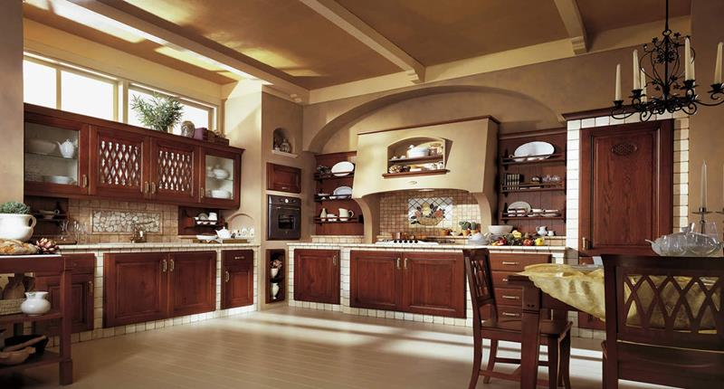81 Absolutely Amazing Wood Kitchen Designs-46