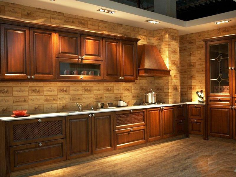 81 Absolutely Amazing Wood Kitchen Designs-47