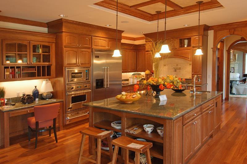 81 Absolutely Amazing Wood Kitchen Designs-5