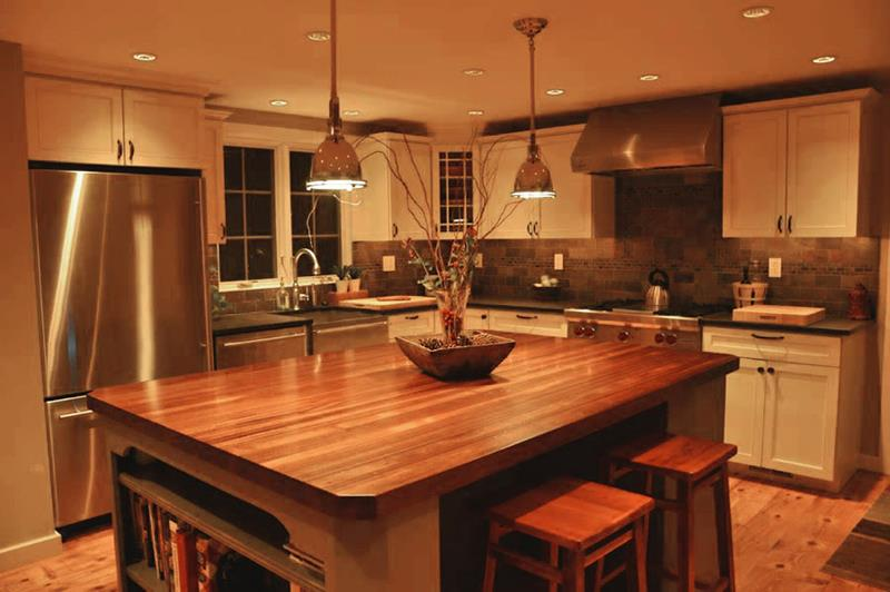 81 Absolutely Amazing Wood Kitchen Designs-51
