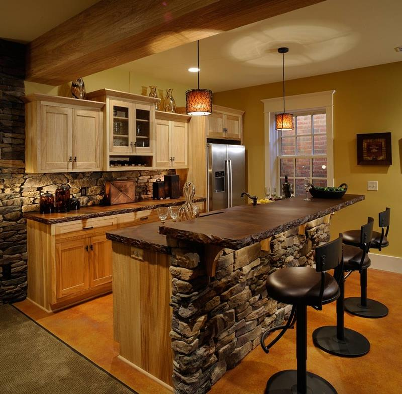 81 Absolutely Amazing Wood Kitchen Designs-54