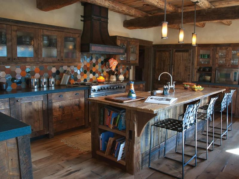 81 Absolutely Amazing Wood Kitchen Designs-57
