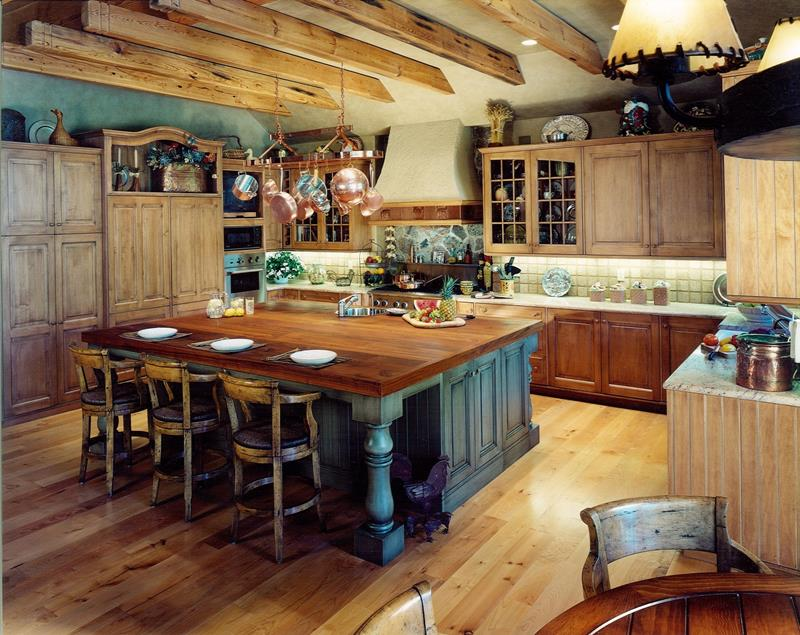 81 Absolutely Amazing Wood Kitchen Designs-59