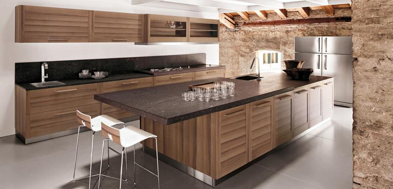 81 Absolutely Amazing Wood Kitchen Designs-67