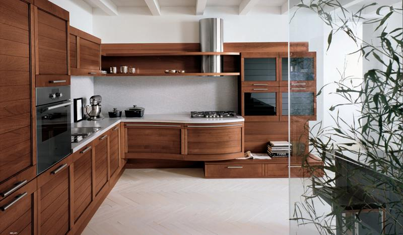 81 Absolutely Amazing Wood Kitchen Designs-74